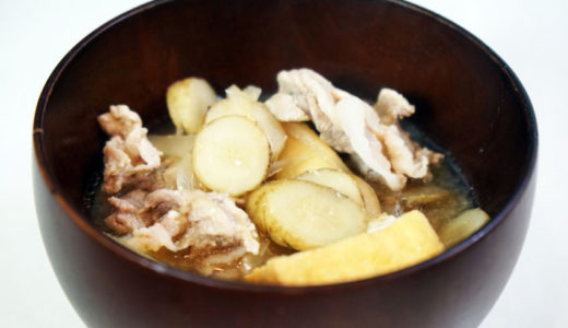 ホットクック レシピ#19:具だくさん味噌汁を作りました!
