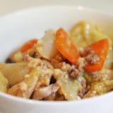 ホットクック レシピ#21:野菜とひき肉の味噌炒めをアドリブで(塩分計算にミスがあったため訂正いたしました)