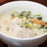 ホットクック レシピ#45:ホットクックで塩麹豆乳鍋!