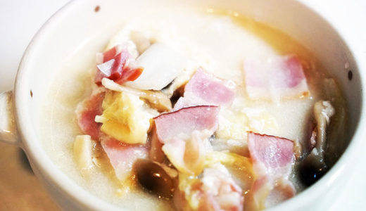 ホットクックレシピ #59:「白菜のクリーム煮」はリピ決定。簡単なのに美味しいです!