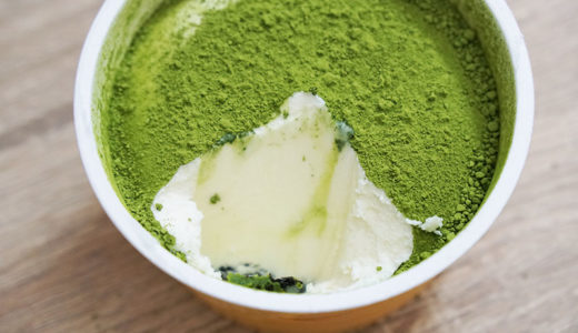 ローソン「Uchi Cafe 抹茶のティラミス」小さいのにワンダフルなカップアイスだった