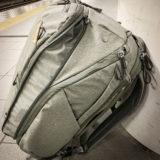 PeakDesign Travel Backpack 45Lの必殺技で6泊7日の出張に立ち向かった話