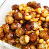 ヘルシオレシピ#11:「ごぼうと大豆の甘辛焼き」はご飯が秒で消えるおかずだった