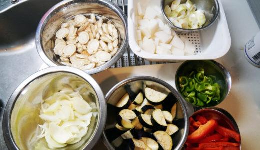 ホットクック レシピ#38:冷蔵庫一掃「野菜たっぷり味噌汁」の巻
