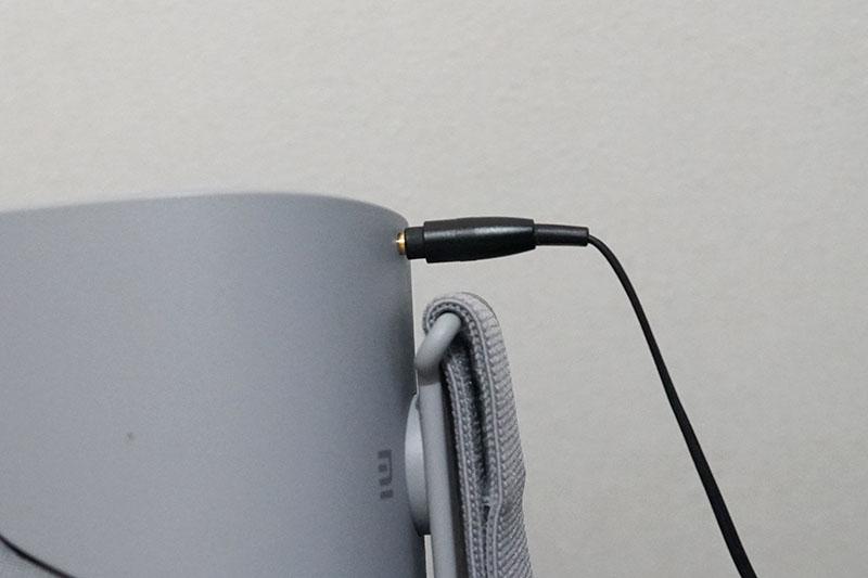 Oculus Go オーディオジャック