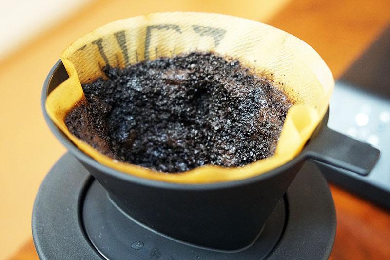 ツインバードコーヒーメーカー:後片付け:ドリッパー部分