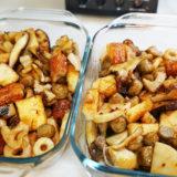 ヘルシオレシピ#13:「野菜の簡単甘酢焼き」を大量に作りました