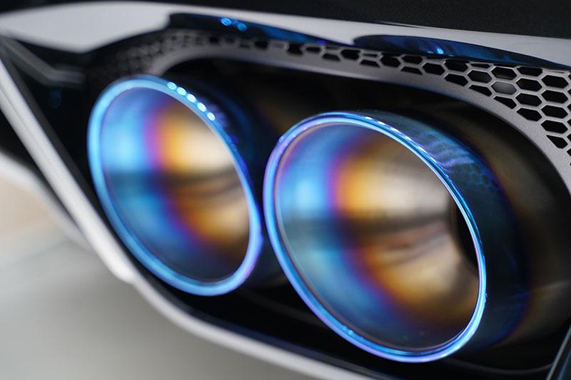 GT-R 2020 マフラー