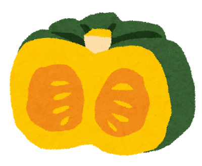 いらすとやのかぼちゃイラスト