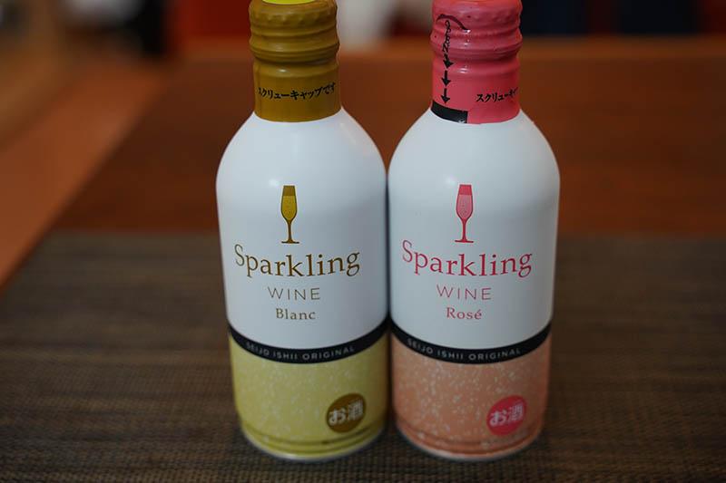 成城石井オリジナル 缶入りスパークリングワイン