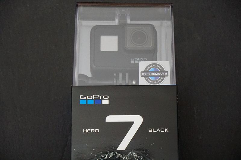 GoPro Hero 7パッケージ