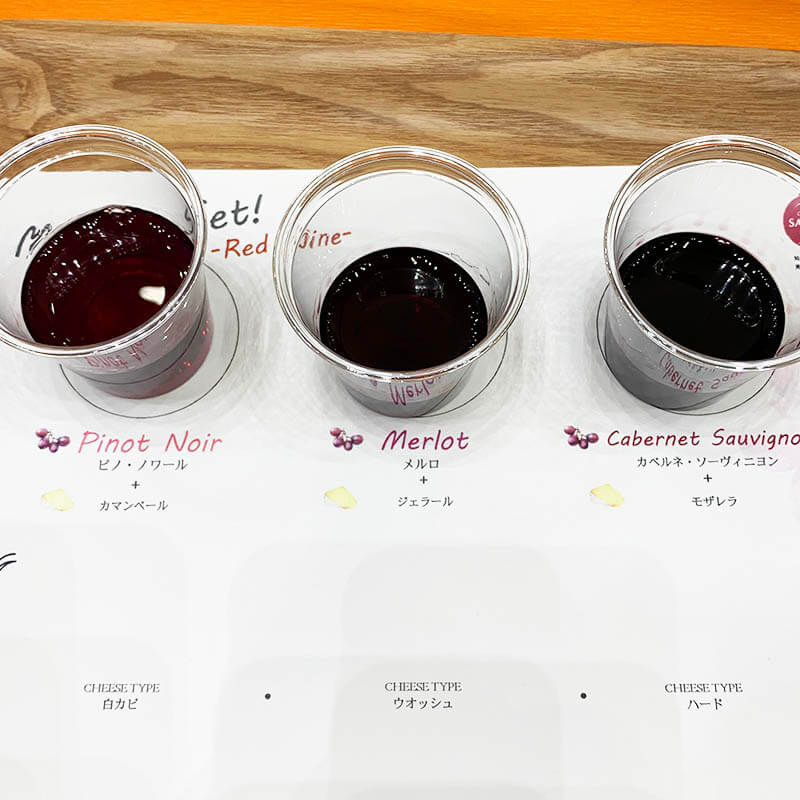 エノテカ ワインとチーズのある暮らし 赤ワインセット