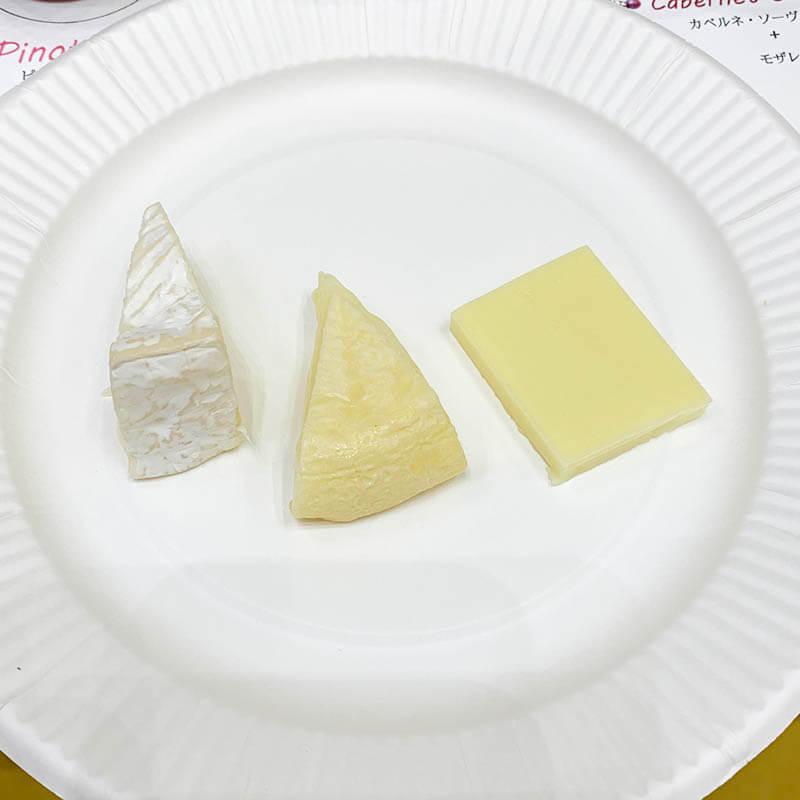 エノテカ ワインとチーズのある暮らし 赤ワインセットのチーズ