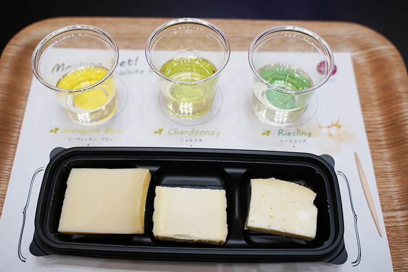 エノテカ ワインとチーズのある暮らし 白ワインとチーズ