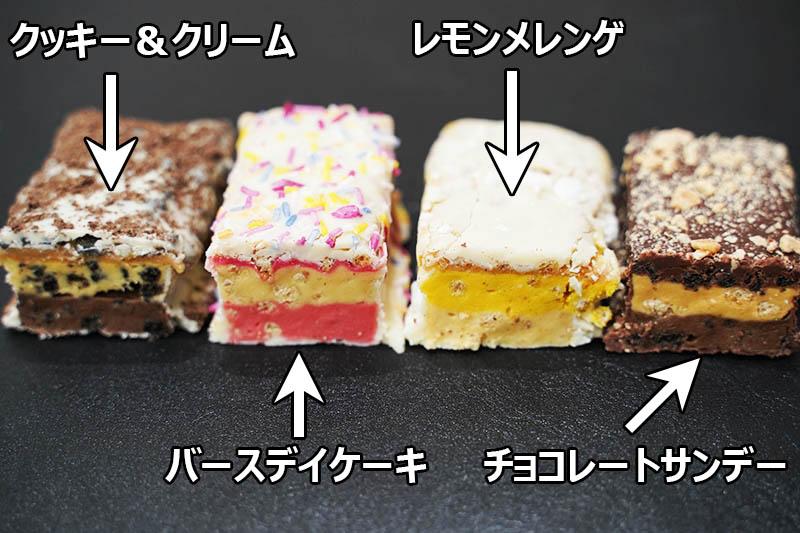 マイプロテイン:6レイヤーバー バースデーケーキ