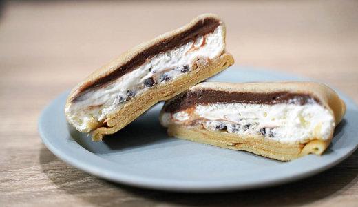 セブン・イレブン「もっちりクレープ生チョコクリーム&ホイップ」