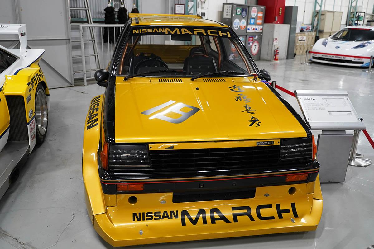 マーチスーパーシルエット 1982年 K10