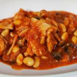 ホットクック レシピ#112:簡単イタリアン風「豚肉のトマト煮こみ」をつくります