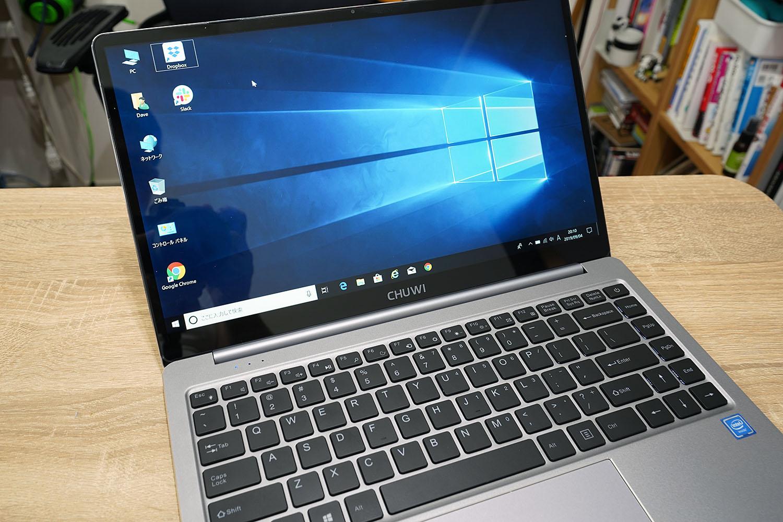 CHUWI LapBook Pro 14.1 筐体写真
