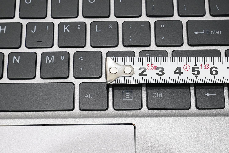 CHUWI LapBook Pro 14.1 キーボードアップ