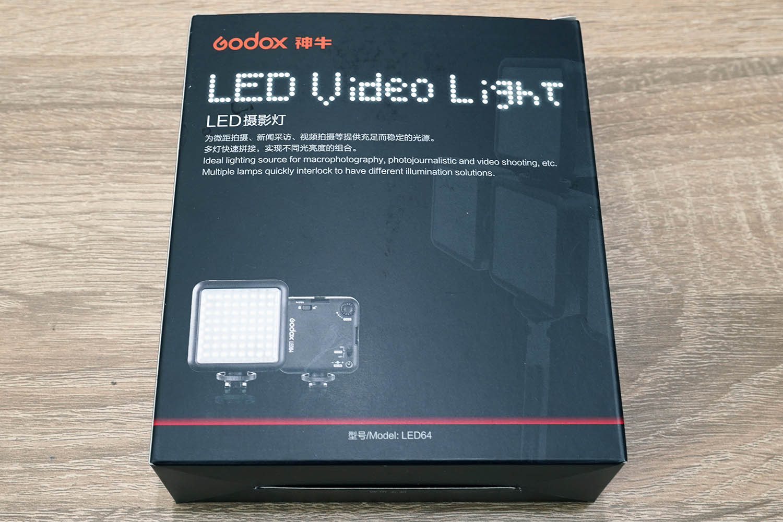 Godox Video Light 64 パッケージ