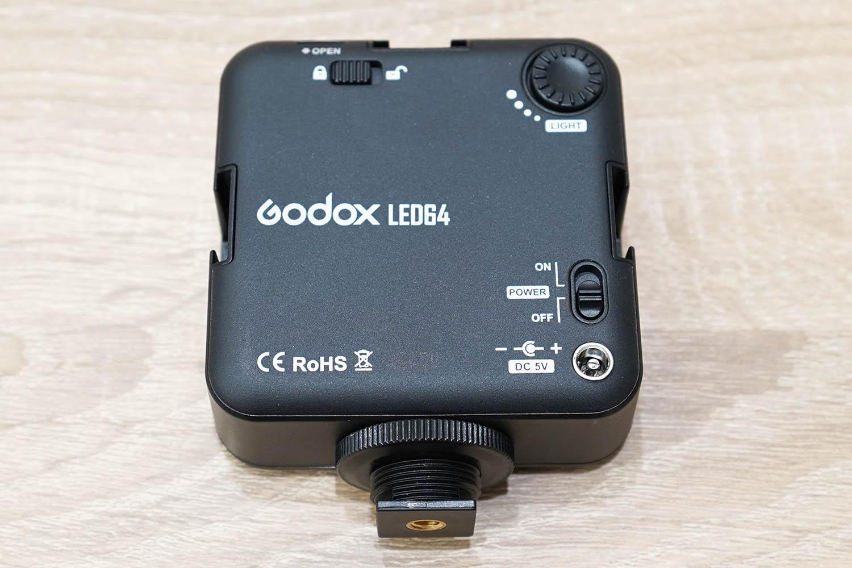 Godox Video Light 64 背面