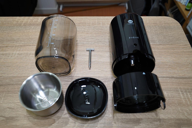 ウィズウェル Water Dripper 分解して洗浄できます