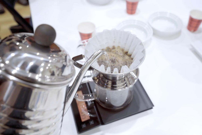 Kalita 美味しいドリップコーヒーセミナー 自分たちで淹れてみる