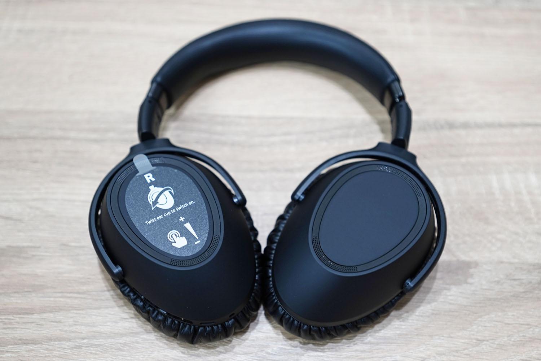 ゼンハイザー PXC 550-II:単体(伏せてみた)