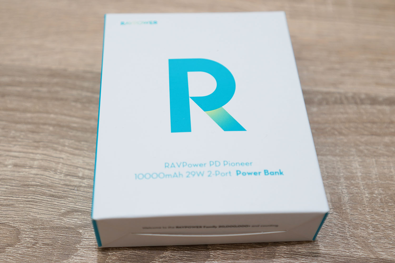 RAVPower RP-PB186 28W 10000mAh PD対応 モバイルバッテリー:パッケージ