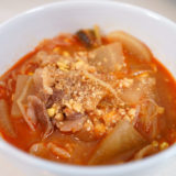 ホットクック レシピ#117:公式レシピ本から寒い季節にぴったりの「納豆ユッケジャン風スープ」を作ります