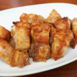 ヘルシオ レシピ #26:シャープ ヘルシオ ウォーターオーブンなら「豚肉のから揚げ」もちょっとヘルシーに仕上がります!