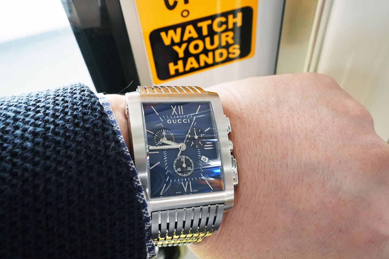 KARITOKE~WATCH YOUR HANDS。まさに時計は見られている