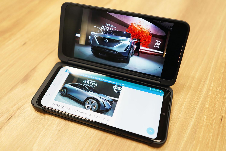 LG G8X ThinQ:ニンテンドーDSを彷彿とさせる佇まいが懐かしい