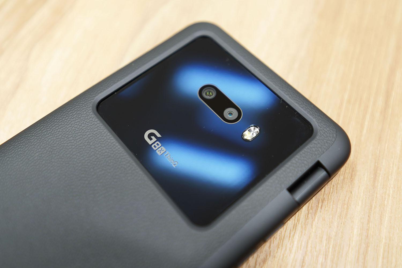 LG G8X ThinQ:アウトカメラは2眼
