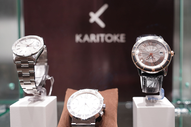 KARITOKE:レンタル時計の例2
