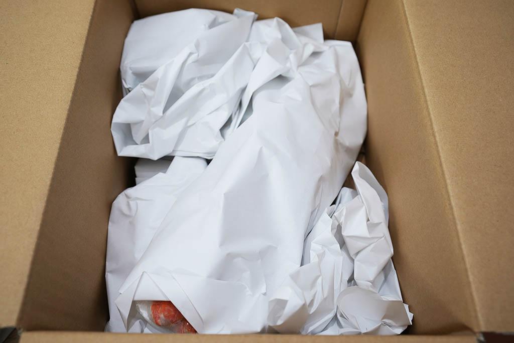 海鮮 グルメ 福袋 10,800円:1枚めくった所