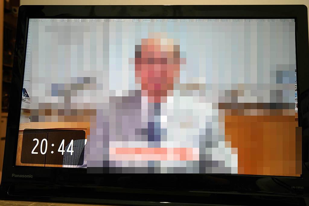 プライベート・ビエラ:ディスプレイには時計を常時表示可能
