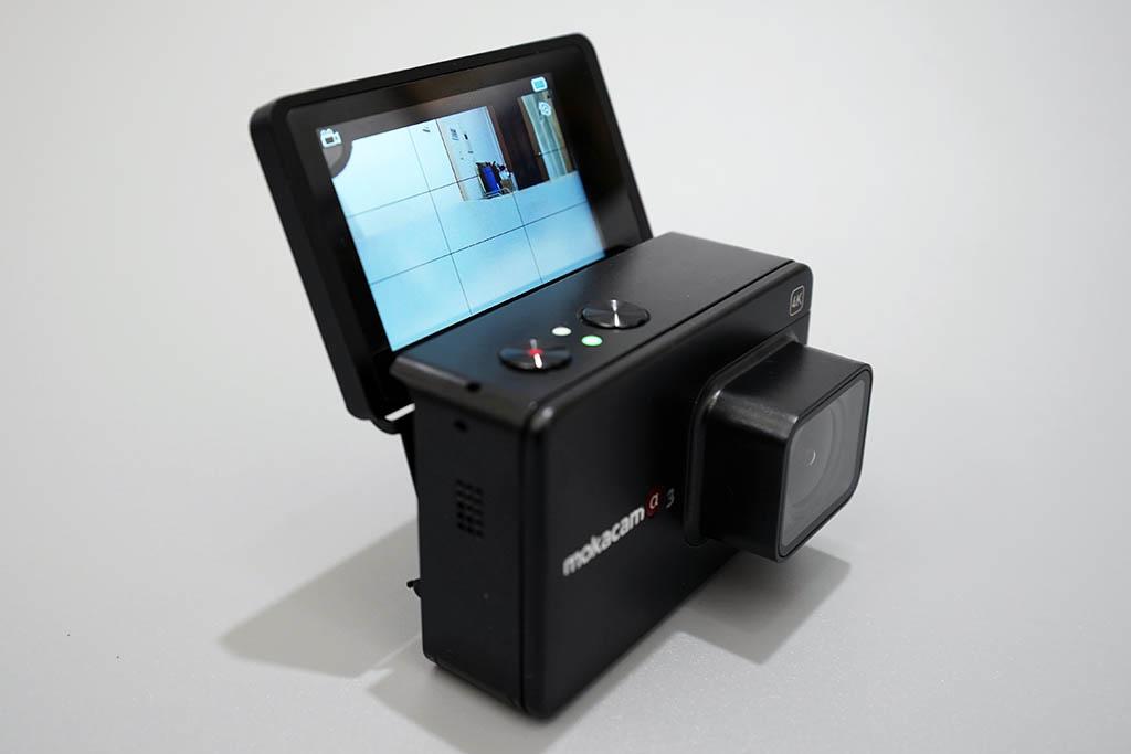 Mokacam Alpha3 フリップスクリーン