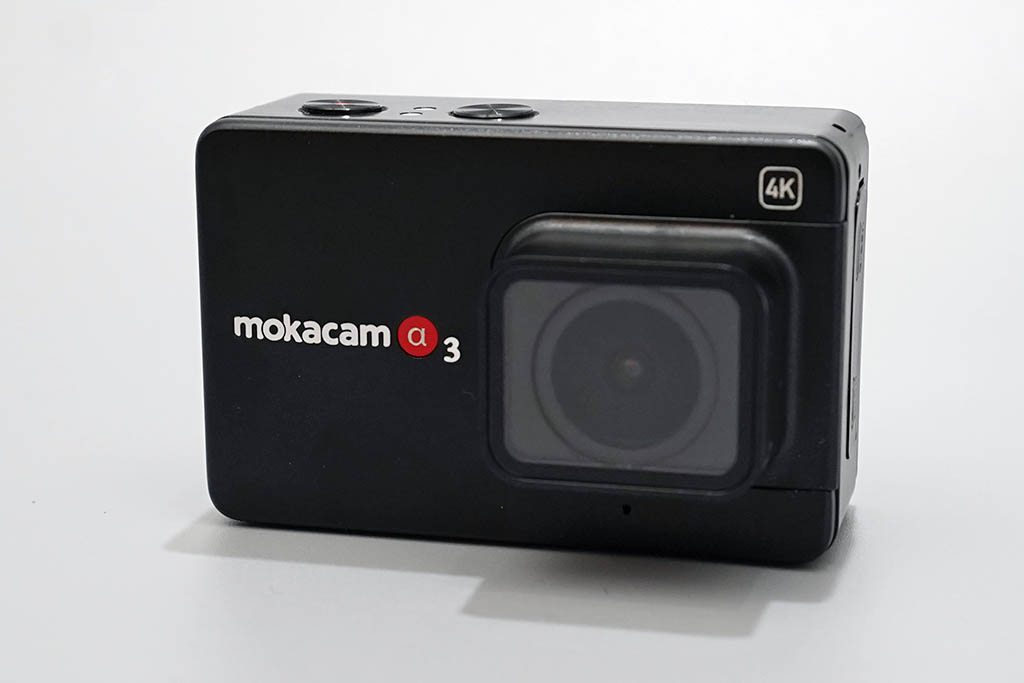 Mokacam Alpha3本体正面