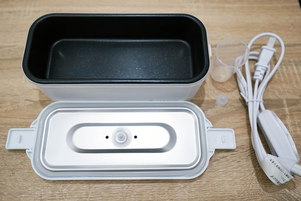おひとりさま用超高速弁当箱炊飯器:同梱物