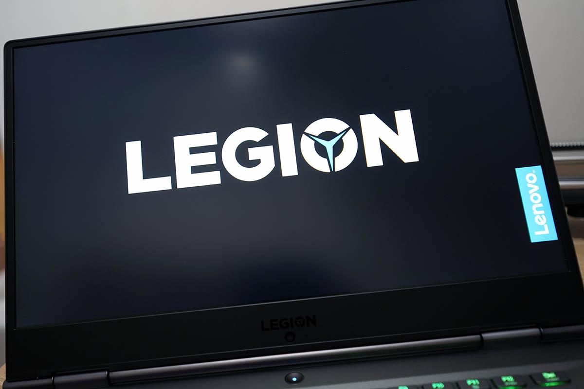 Legion Y740(15):スタートアップ画面