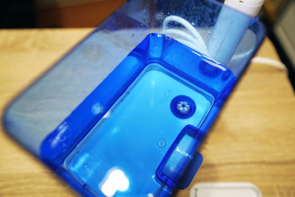 ジェットウォッシャー ドルツ:タンクに水を入れる