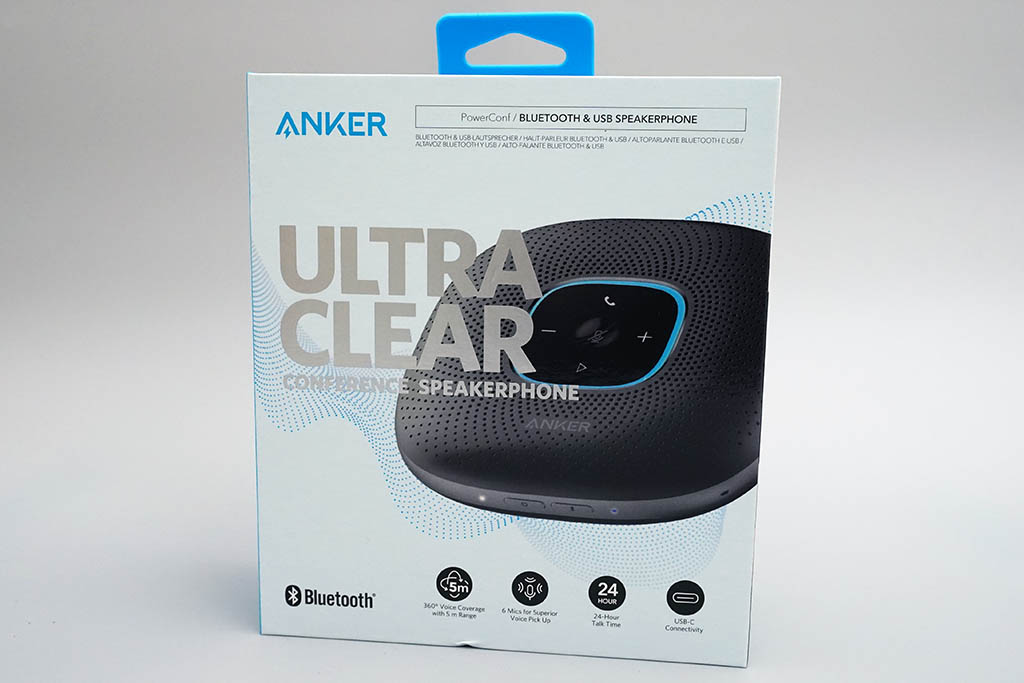 Anker PowerConf:パッケージ
