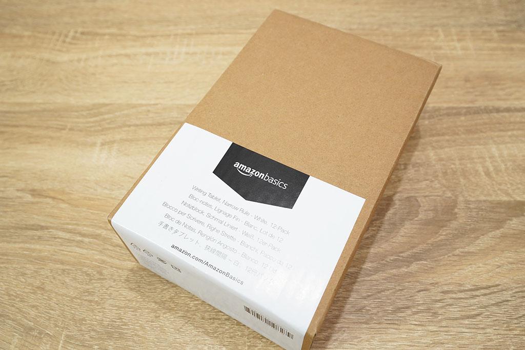 Amazonベーシック:メモ帳(細罫・ジュニアサイズ)パッケージ