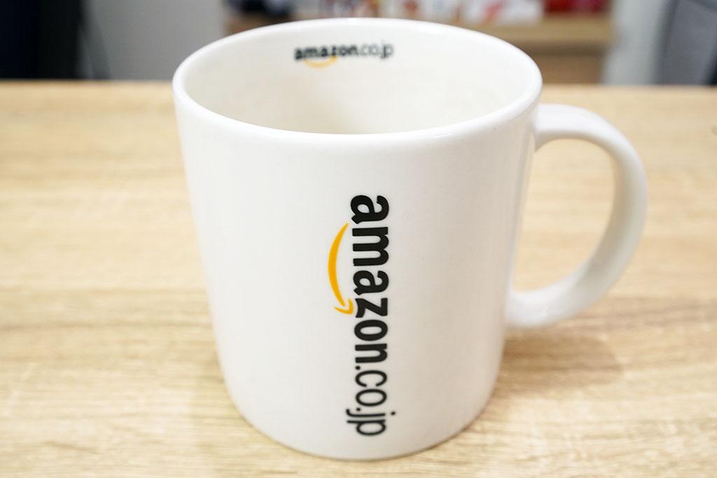Amazonベーシック:オリジナルマグカップ写真