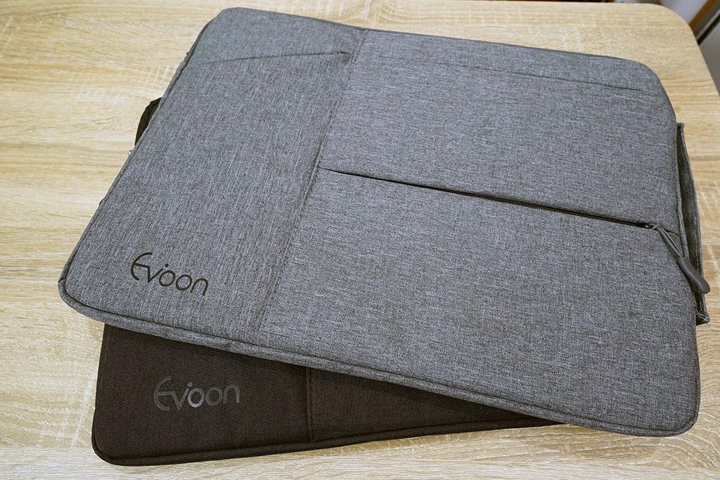 EvoonノートPCケース:15インチモデル外観(グレー・ブラック2色)