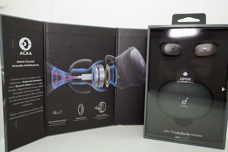 Anker SoundCore Liberty Pro 2のパッケージ写真