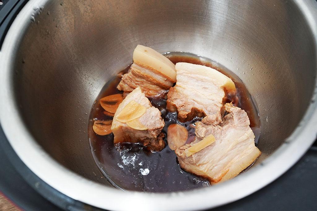 豚の角煮:HW24Eの調理後、煮詰め前