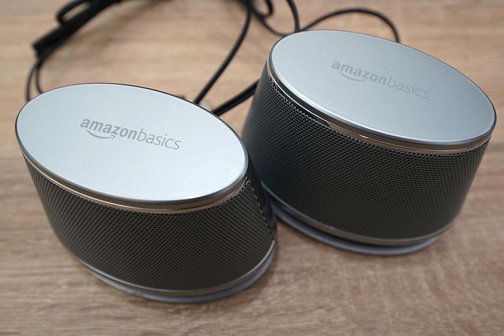 Amazonベーシック:USBダイナミックスピーカー写真